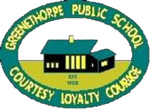 Greenethorpe Public School logo